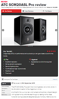 ATC SCM 20 ASL Pro - What Hi-Fi (UK) review