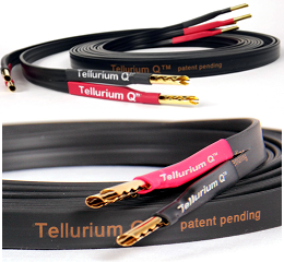 Tellurium Q Black speaker cable, 2m pair