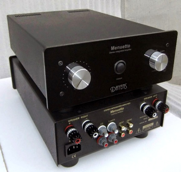 Dayens Menuetto Custom Integrated Amplifier
