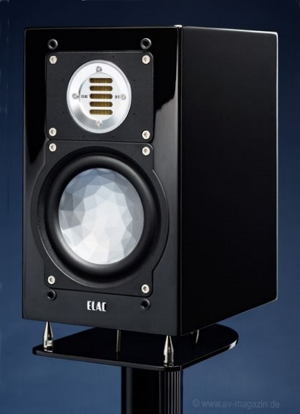 ELAC BS 243 - AVmagazin review - front