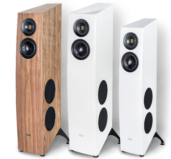 ELAC Concentro S 509 and S 507 black and white high gloss finish