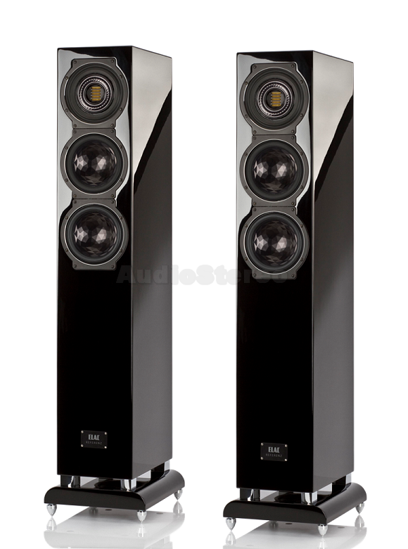 ELAC FS 507 VX-JET black high gloss finish
